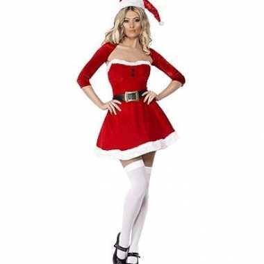 Kerst jurk met bolero dames