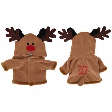 Rendier kerstpakje voor de hond 55 cm dames