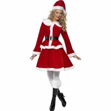 Rode kerst outfit voor vrouwen dames