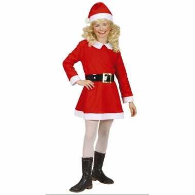 Rood met wit kerstjurk voor meisjes dames